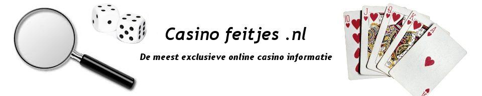 Casino feitjes