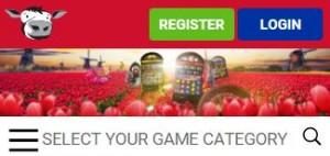 responsieve casino website